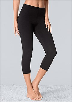 basic capri leggings