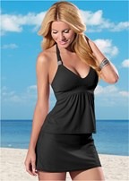 black siren tankini top