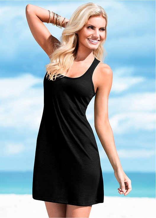 LOVE ME FOREVER DRESS,UNDERWIRE BANDEAU TOP,BELTED LOW RISE BOTTOM