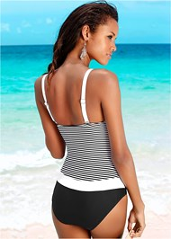 Back view Bandeau One-Piece