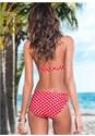 Back view Dottie Halter Bikini Top