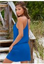 Back view Summer Slip On Dress