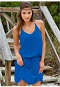 Front view Summer Slip On Dress
