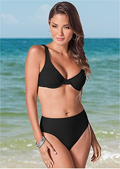 6b52506e8a75 High Waisted Bikini Bottoms | Moderate Coverage | VENUS