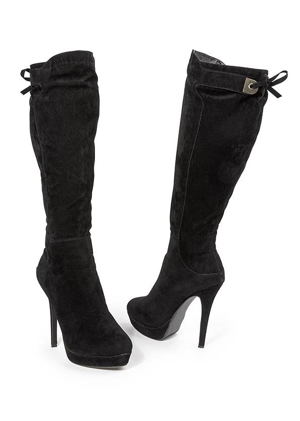 Alternate View Tie Back Boots