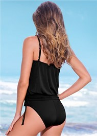 Back view Blouson One-Piece