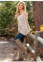 Alternate view Sleeve Detail Tunic Sweater