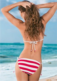 Back view String Side Bikini Bottom