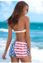 Back view American Pride Board Short