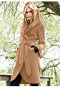 Alternate view Hooded Wrap Coat