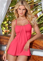 flowing tankini top