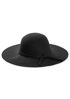 knot detail floppy hat