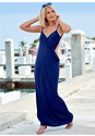 Front view Wrap Maxi Dress