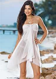 Front View Mesh Dress/Skirt