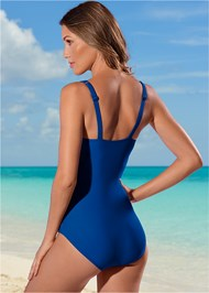 Back view Slimming One-Piece