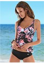 Front view Tropical Tankini Set