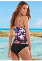 Back view Tropical Tankini Set