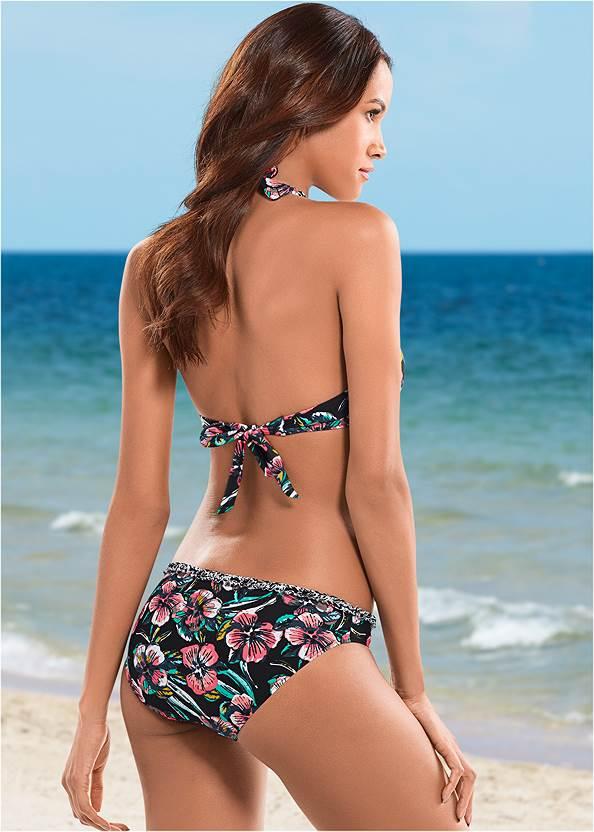 Back view Lowrise Bikini Bottom
