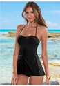 Front view Pretty Twist Front Tankini