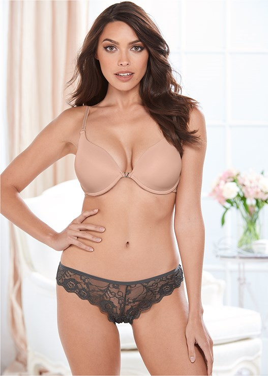 SCALLOP THONG BUY 3 FOR $19,PUSH UP BRA BUY 2 FOR $40