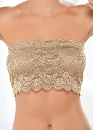 Alternate view Natural Beauty Lace Bandeau
