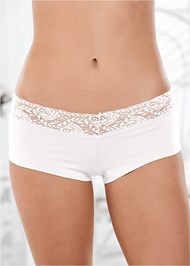 Alternate view Lace Top Panties 5 For $29