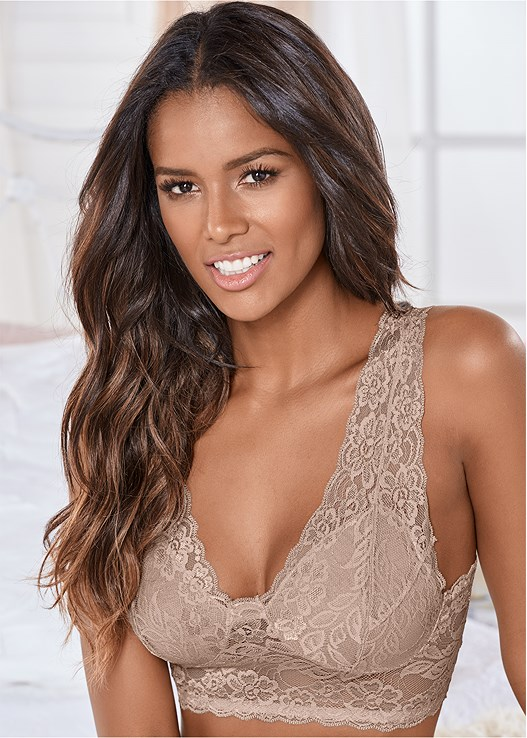 NATURAL BEAUTY LONGLINE BRA