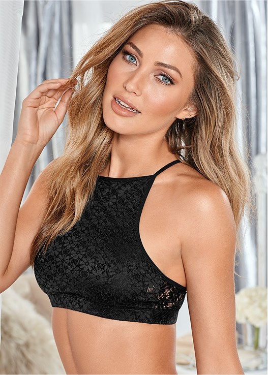 BRALETTE 2 PACK,LACE TOP BRIEF 5 FOR $29