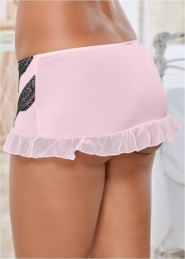 Alternate view Kissable Lace Ruffle Skirt