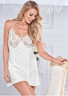 lace top chemise