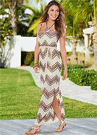 Alternate view Belted Maxi Dress