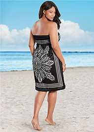 Back View Bandeau Dress