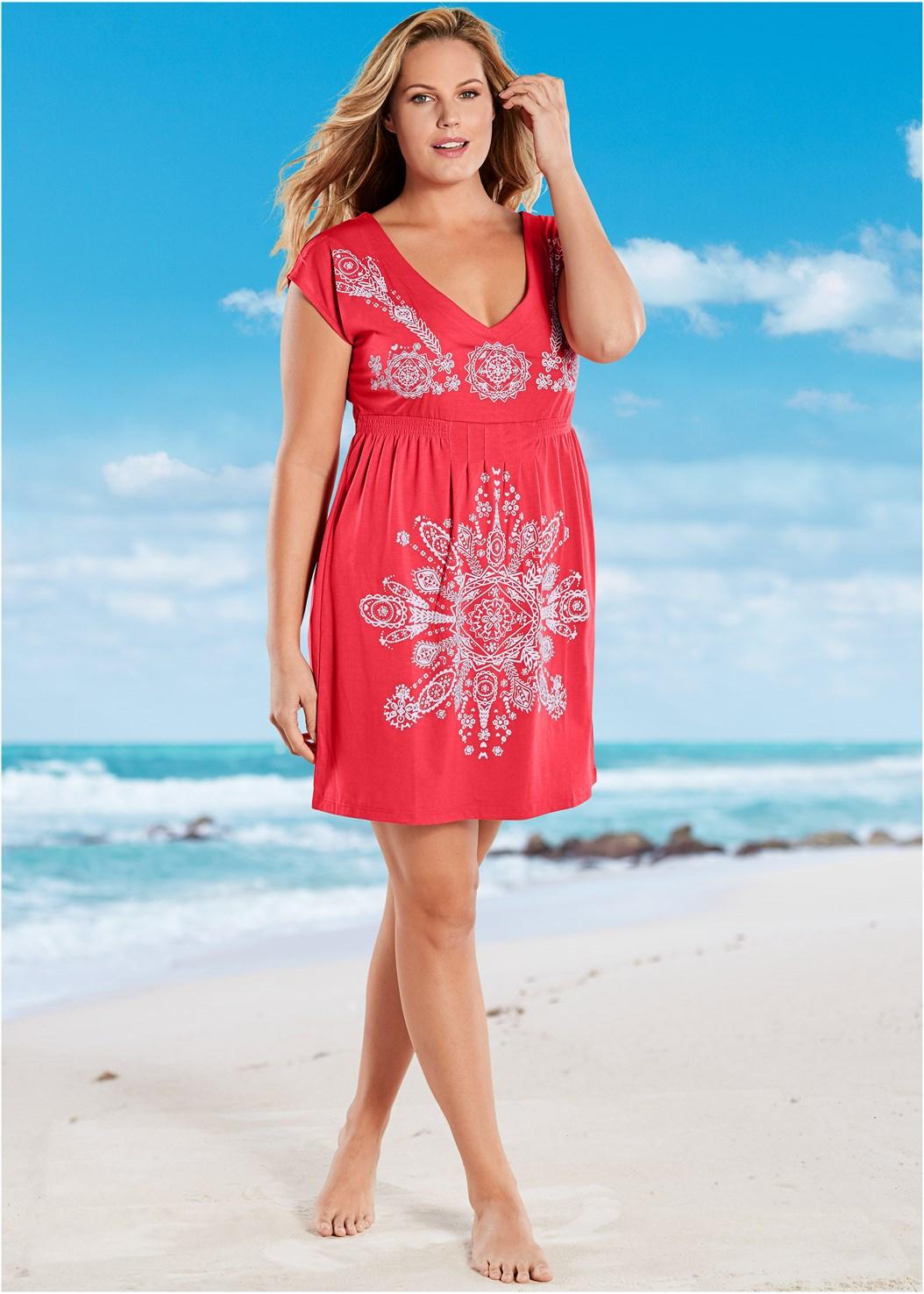 Print Dress,Goddess Enhancer Push Up Halter Top,High Waist Full Cut Bottom