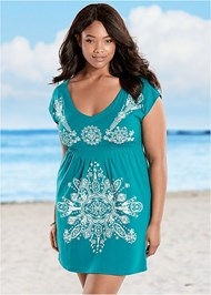 Plus Size Print Dress