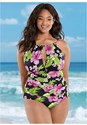 Front view The Aloha One-Piece
