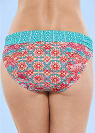 Back View Fold Waist Bottom