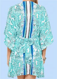 ALTERNATE VIEW Embellished V-Neck Poncho