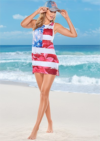 Beachy Tank Cover-Up