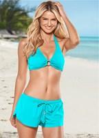 sport halter bikini top