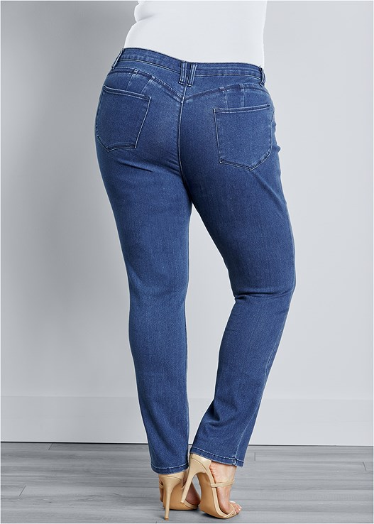 4492d2e3b2 Dark Wash BUM LIFTER JEANS