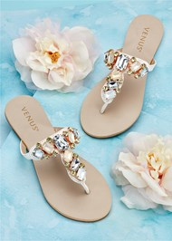 Alternate view Multi Color Stone Sandals