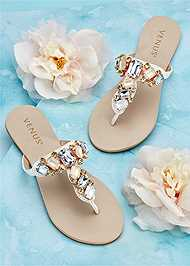 Alternate view Multi Color Stone Sandals