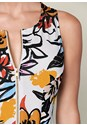 Alternate view Printed Zip Front Dress