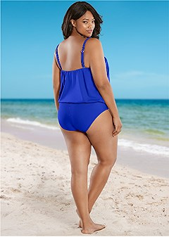 plus size high waist full cut bottom