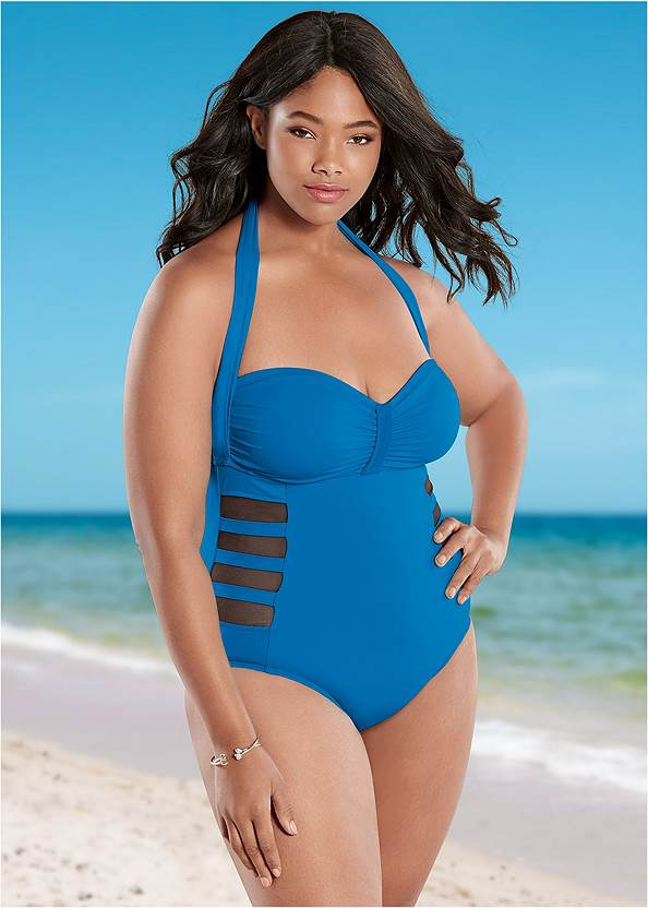 Mesh Side One-Piece