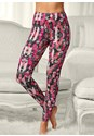 Front view Printed Sleep Leggings