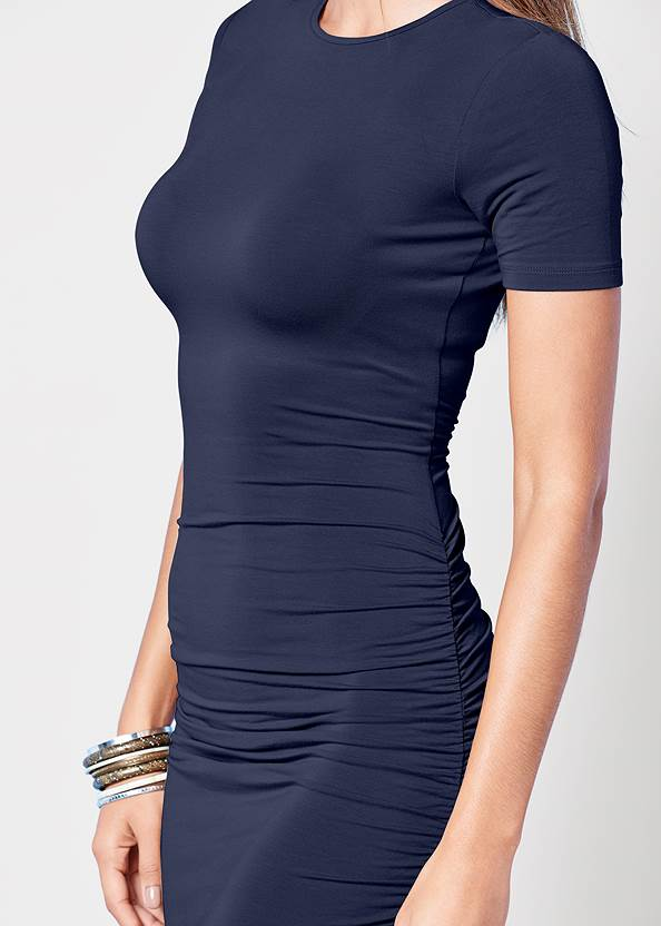 Alternate view Basic High Neck Dress