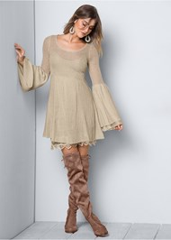 Alternate View Boho Sweater Dress