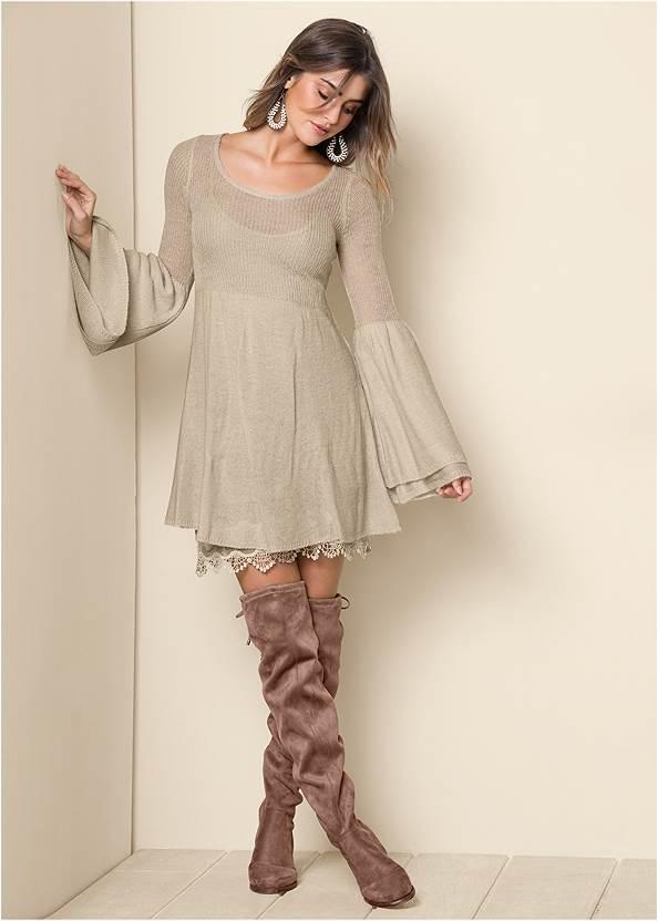 Alternate View Boho Sweater Dress