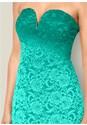 Alternate view Ombre Lace Long Dress